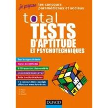 Total tests d'aptitude et psychotechniques 2019