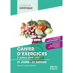 Cahier d'exercices : 21 jours, 21 rations