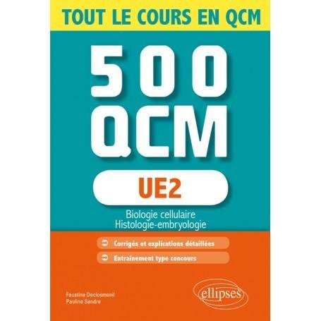 UE2 : 500 QCM