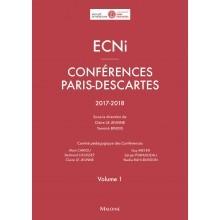 Conférences Paris Descartes, volume 1