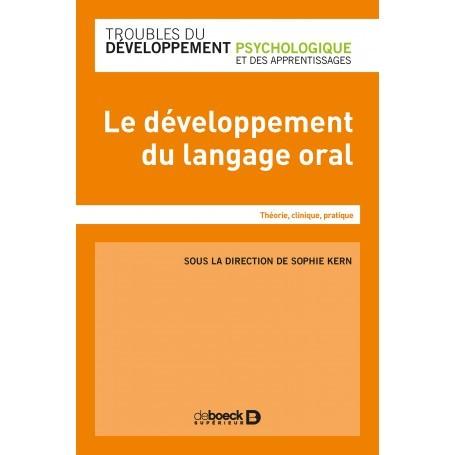 Le développement du langage oral chez l'enfant