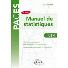 Manuel de statistiques UE4