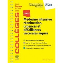 Médecine intensive, réanimation, urgences & défaillances viscérales aiguës