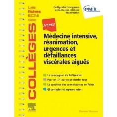 Fiches médecine intensive, réanimation, urgences & défaillances viscérales aiguës