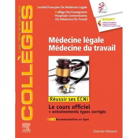 Médecine légale, médecine du travail