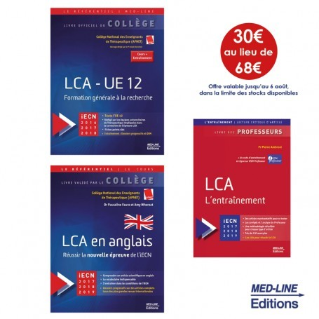 Pack College Lca Cours Methodologie Entrainement Med Line