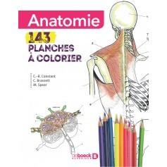 Anatomie : 143 planches à colorier