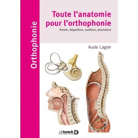 Toute l'anatomie pour l'orthophonie