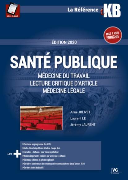 Santé publique, médecine légale, LCA, médecine du travail