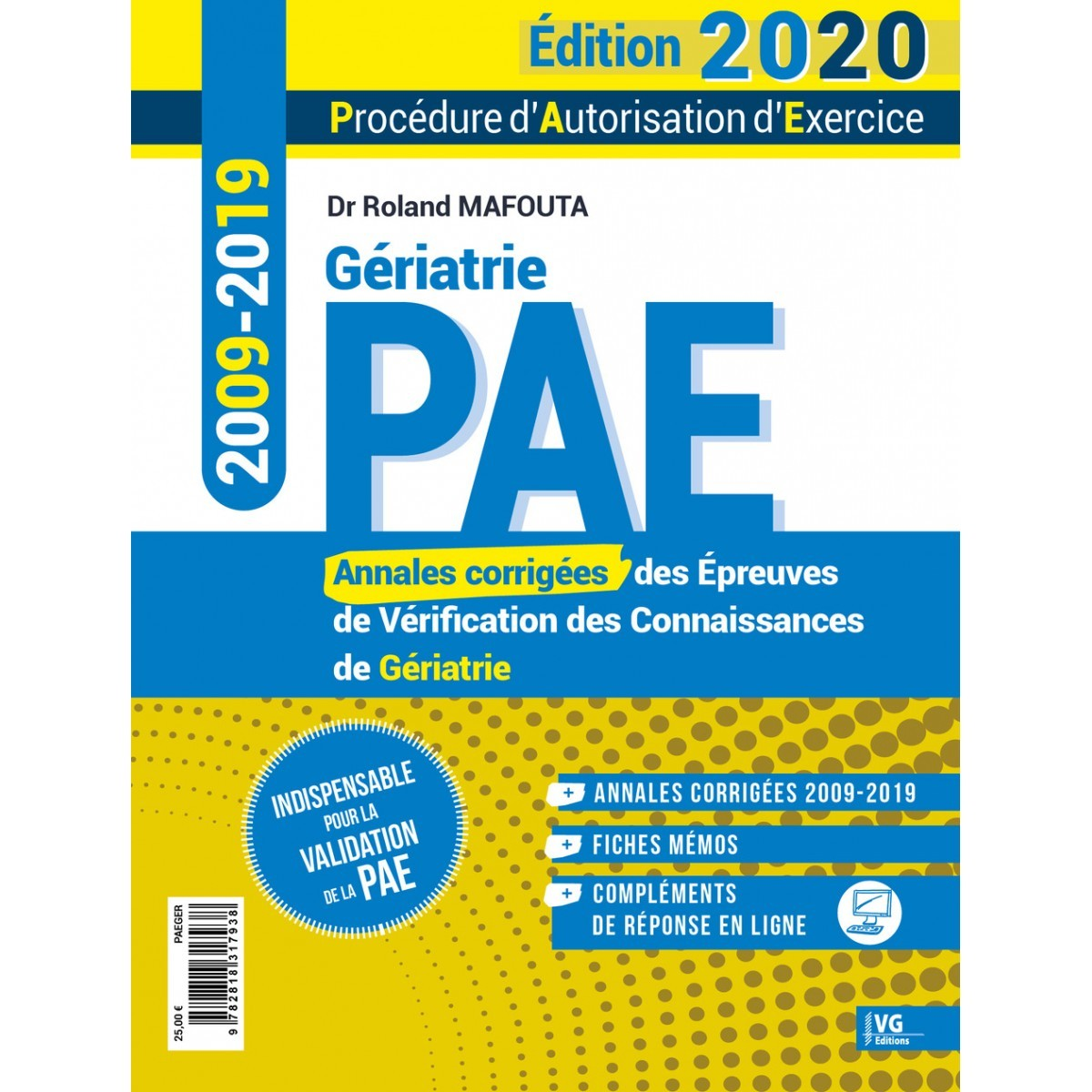 Annales de gériatrie 2009-2019 PAE