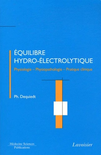 Equilibre hydro-électrolytique