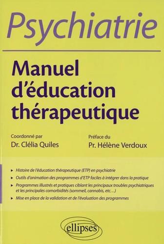 Manuel d'éducation thérapeutique en psychiatrie
