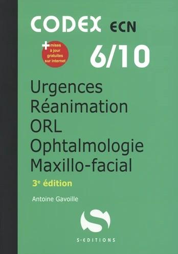 Urgences, réanimation, ORL, ophtalmologie, chir. maxillo-faciale