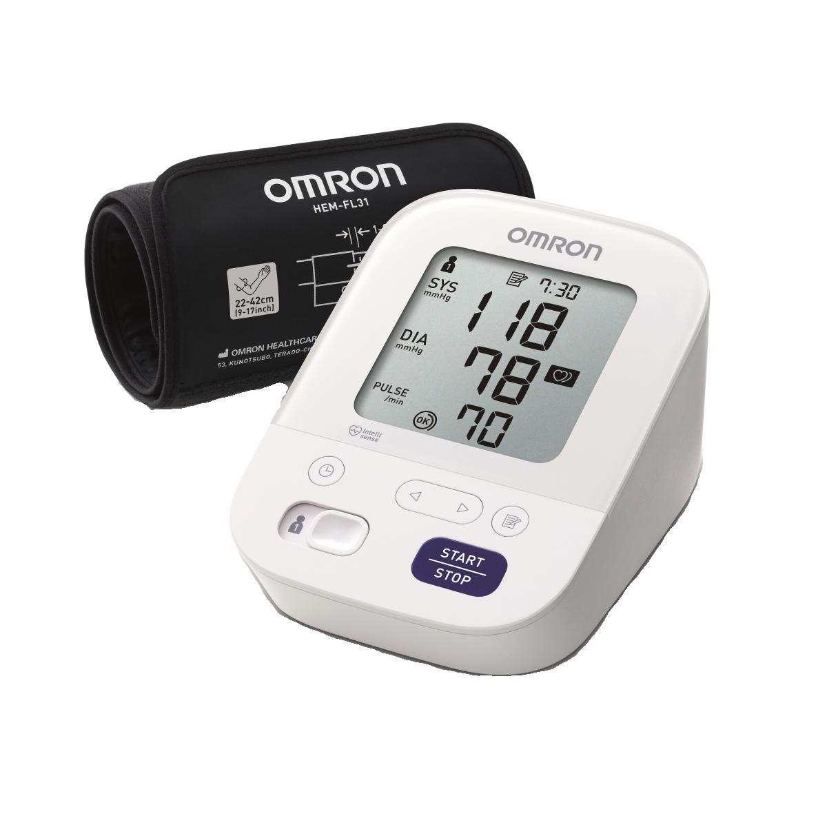 Tensiomètre électronique bras Omron® M3 comfort
