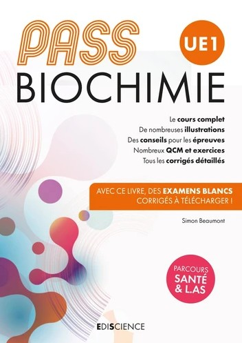 PASS UE1 biochimie