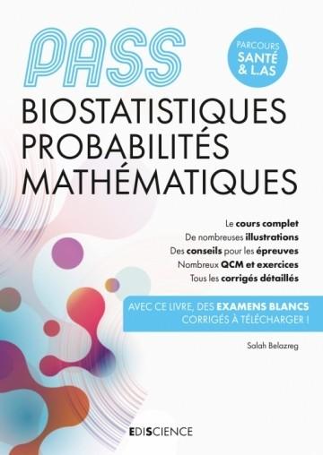 PASS biostatistiques, probabilités, mathématiques
