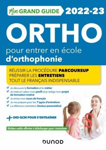 Mon grand guide orthophonie 2022-2023