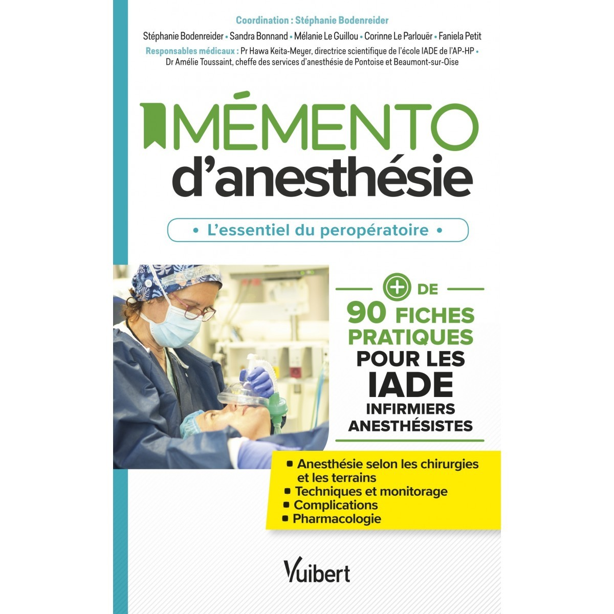 Mémento d'anesthésie