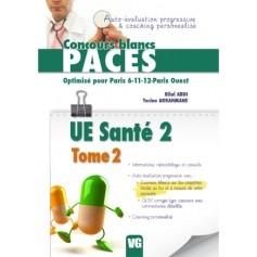 UE santé 2, tome 2 - Paris 6, 11, 12, Paris ouest
