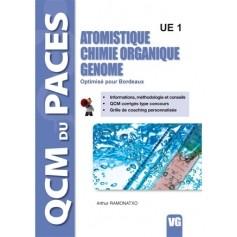 Atomistique, chimie organique, génome UE1 - Bordeaux