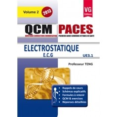 Electrostatique, ECG UE3.1