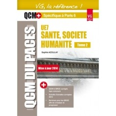 Santé, société, humanité UE7, tome 2 - Paris 6