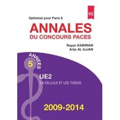 Annales 2009-2014 concours PACES UE2 - Paris 6