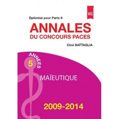 Annales 2009-2014 concours PACES maïeutique - Paris 6