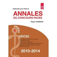 Annales 2010-2014 concours PACES UECS2 - Paris 6