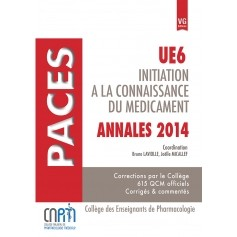 Annales 2014 initiation à la connaissance du médicament UE6