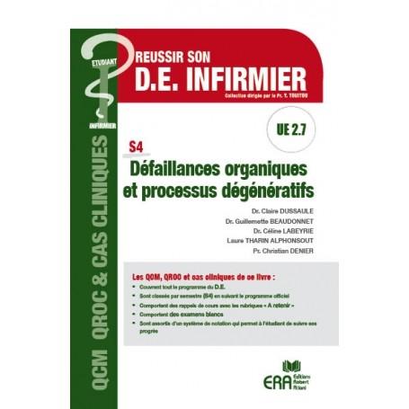 Défaillances organiques & processus dégénératifs UE 2.7