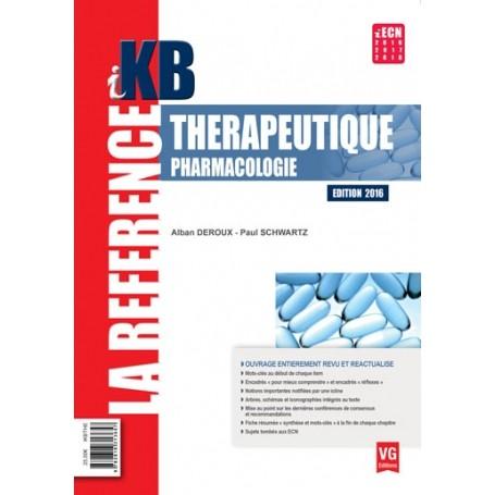 Thérapeutique, pharmacologie