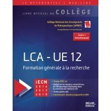 LCA UE12 : formation générale à la recherche