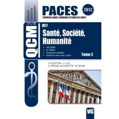 Santé, société, humanité UE7, tome 2