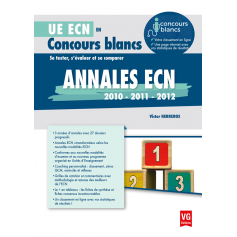 Annales ECN 2010, 2011, 2012