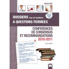 Conférences de consensus et recommandations 2010-2011