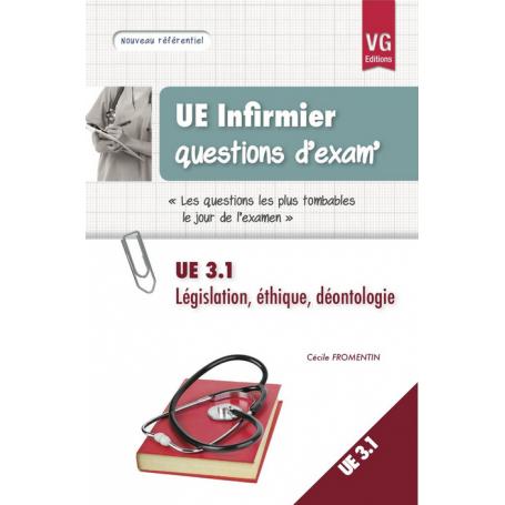 Législation, éthique, déontologie UE 1.3