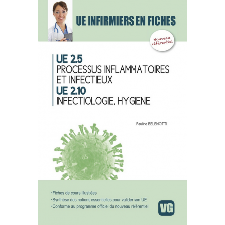 Processus inflammatoires et infectieux, infectiologie, hygiène UE 2.5 & 2.10