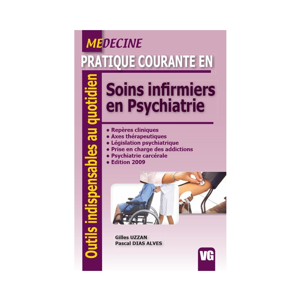 Soins Infirmiers En Psychiatrie Vg Librairie