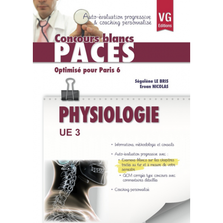 UE 3 PHYSIOLOGIE - PARIS 6