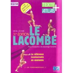 Précis d'anatomie et de physiologie humaines Lacombe - Pack 2 volumes