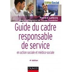Guide du cadre responsable de service
