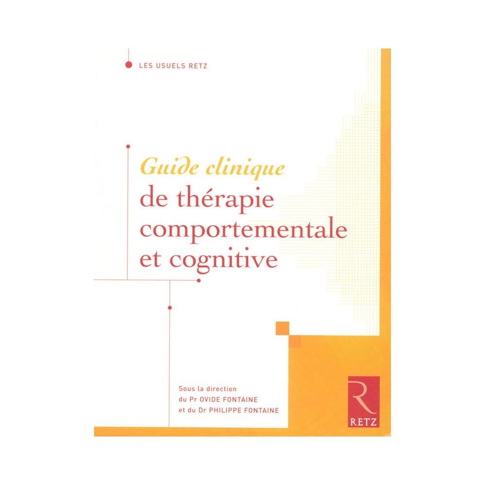 Guide clinique de th rapie comportementale et cognitive vg librairie - Clinique des sports porte des lilas ...