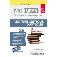 Lecture critique d'articles