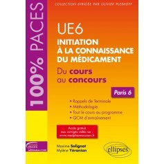 Initiation à la connaissance du médicament UE 6 - Paris 6