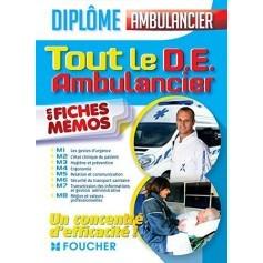 Tout le DE ambulancier en fiches mémos