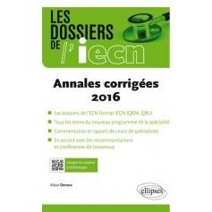 Annales corrigées 2016