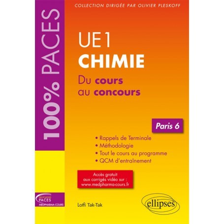 Chimie UE1 - Paris 6