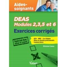 Modules 2,3,5 & 6 - Exercices corrigés pour les aides-soignants
