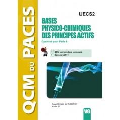 Bases physico-chimiques des principes actifs UECS2 - Paris 6